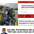 FenaPRF lamenta comentários de Sardenberg contra a PRF