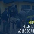Nota Pública – Projeto de abuso de autoridade