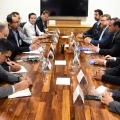Ministro reafirma compromisso do governo em cumprir acordo