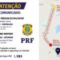 PRF realiza Operação Mão única entre Chorozinho e Pacajus no Domingo de Páscoa
