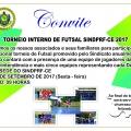 SINDPRF-CE convida PRF's para Torneio Interno de Futsal