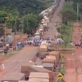 Trabalhadores do MST fazem 2º dia de bloqueio em rodovias de MT
