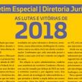 Boletim Especial Diretoria Jurídica - Lutas e vitórias 2018 (Jornal Expresso Sindical)