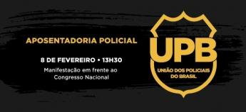 Categorias da Segurança Pública protestam amanhã contra Reforma da Previdência