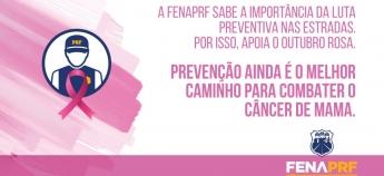 Outubro Rosa: momento de prevenção e conscientização contra o câncer de mama