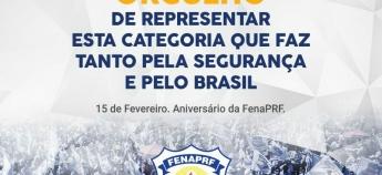 FenaPRF comemora 25 anos de lutas