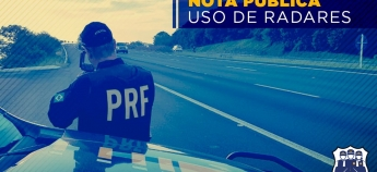 Nota Pública – Suspensão do uso de radares nas rodovias
