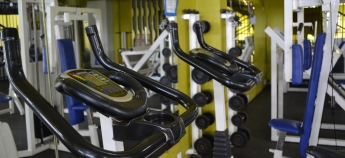 Uma série de serviços: Sala de musculação