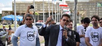 PRF's participam de ato unificado contra PEC 287