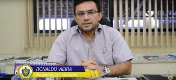 Vídeo: Presidente em exercício do SINDPRF-CE manda mensagem de fim de ano para PRF's