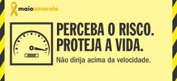 Ainda dá tempo de participar da campanha Maio Amarelo