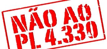 Apoiar o PL 4.330/04 é trair a classe trabalhadora