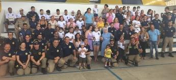 """Uma tarde de alegria na festa da Campanha """"Policiais Contra o Câncer Infantil"""""""