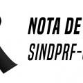 Nota de Pesar - Manoel Teixeira de Oliveira