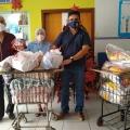 Campanha Policiais Contra o Câncer Infantil: cerca de 1,5 toneladas de alimentos foram doados