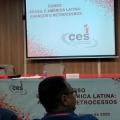 """Sindicato participa do Curso Nacional Brasil e América Latina –""""Avanços e Retrocessos"""" realizado pelo CES"""