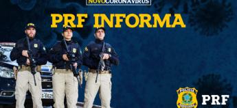 PRF atualiza plano de contingência de enfrentamento à Covid-19